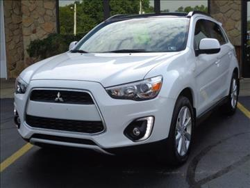 2015 Mitsubishi Outlander Sport for sale at Rogos Auto Sales in Brockway PA
