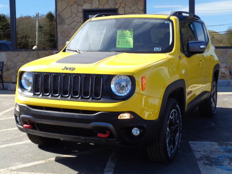 Jeep Renegade Trailhawk For Sale >> 2016 Jeep Renegade Trailhawk In Brockway Pa Rogos Auto Sales