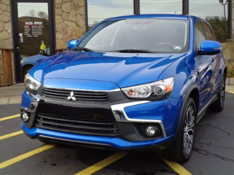 2016 mitsubishi outlander sport for sale at rogos auto sales in brockway pa