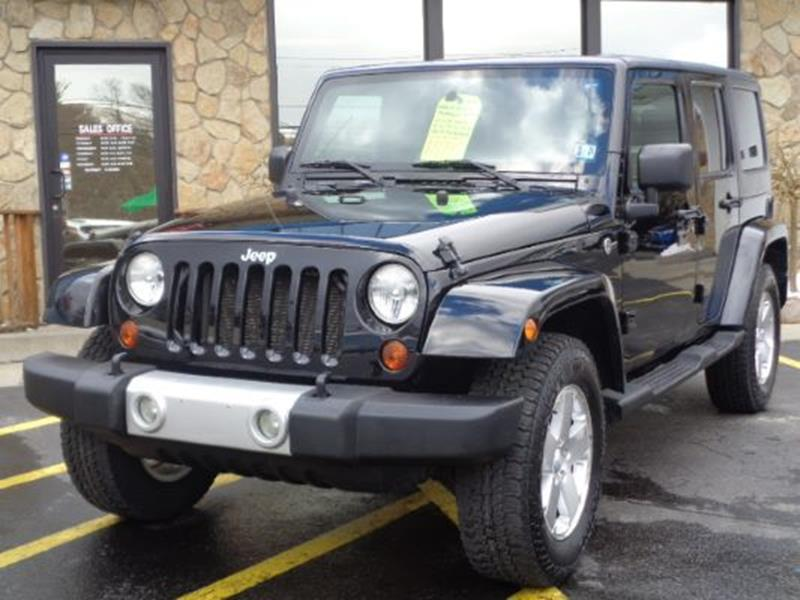 2009 Jeep Wrangler Unlimited For Sale At Rogos Auto Sales In Brockway PA