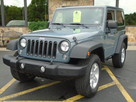 2014 Jeep Wrangler for sale in Brockway, PA