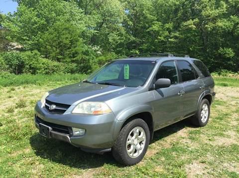 2001 Acura MDX for sale at Kimp Enterprises LLC in Waterbury CT