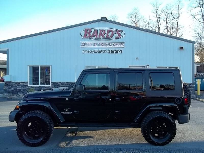 2010 Jeep Wrangler Unlimited For Sale At Bardu0027s Auto U0026 Truck Sales In  Greencastle PA