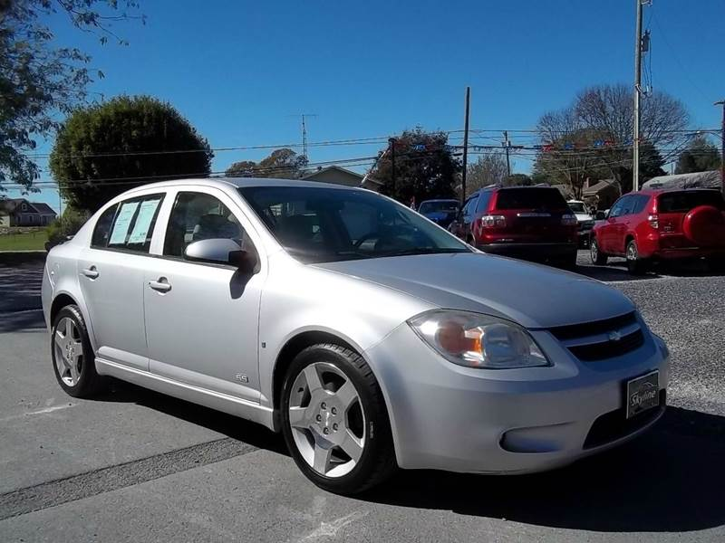 2006 Chevrolet Cobalt SS 4dr Sedan w/ Front and Rear Head Airbags In ...