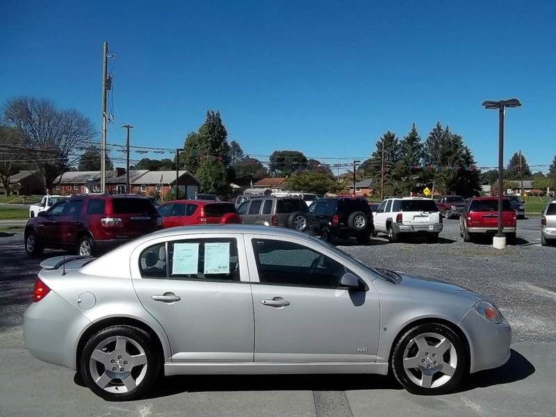 2006 Chevrolet Cobalt SS 4dr Sedan w Front and Rear Head Airbags