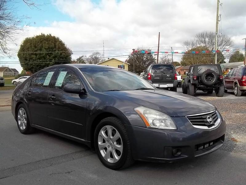 2007 nissan maxima 3 5 sl in greencastle pa bard 39 s auto truck sales. Black Bedroom Furniture Sets. Home Design Ideas