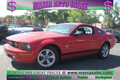 2007 Ford Mustang for sale in Colorado Springs, CO