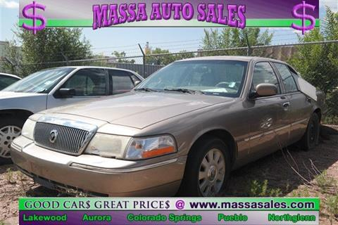 2004 Mercury Grand Marquis for sale in Colorado Springs, CO
