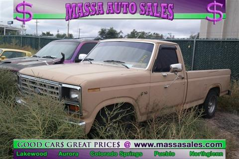 1983 Ford F-150 for sale in Colorado Springs, CO