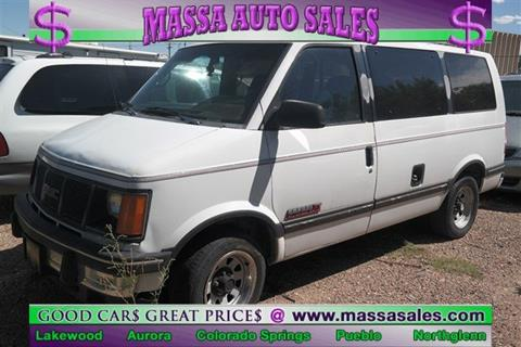 1992 GMC Safari for sale in Colorado Springs, CO