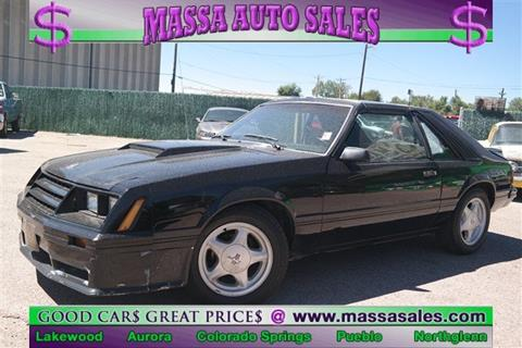 1982 Ford Mustang for sale in Colorado Springs, CO