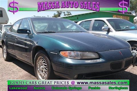 1997 Pontiac Grand Prix for sale in Colorado Springs, CO