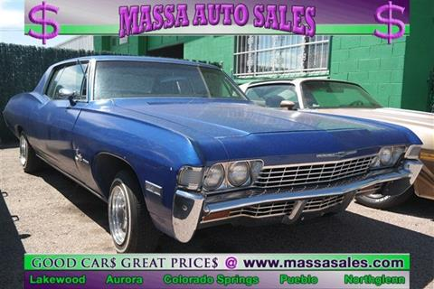 1968 Chevrolet Impala for sale in Colorado Springs, CO