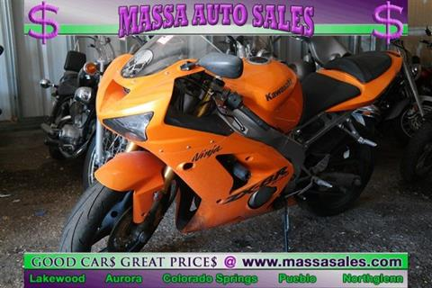 2004 Kawasaki Ninja ZX-6R for sale in Colorado Springs, CO