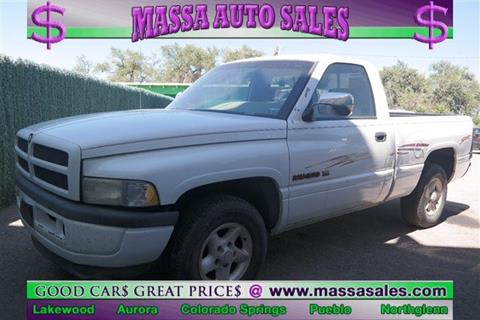 1996 Dodge Ram Pickup 1500 for sale in Colorado Springs, CO