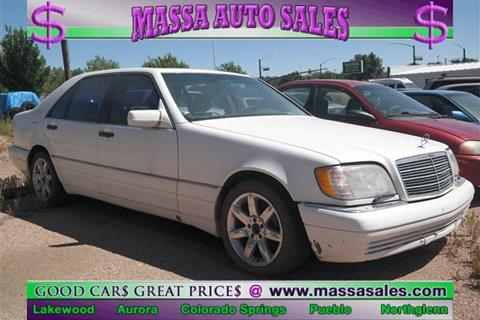 1997 Mercedes-Benz S-Class for sale in Colorado Springs, CO