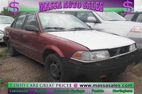 1991 Toyota Corolla for sale in Colorado Springs, CO