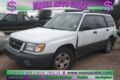 1999 Subaru Forester for sale in Pueblo, CO