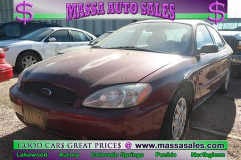 2007 ford taurus for sale in colorado. Black Bedroom Furniture Sets. Home Design Ideas