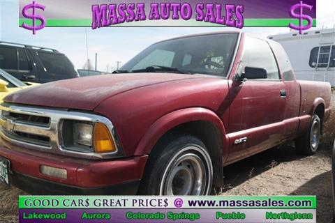 Chevrolet s 10 for sale in colorado for Frontier motors colorado springs