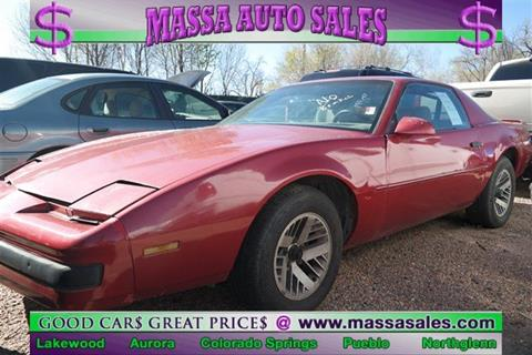1990 Pontiac Firebird for sale in Colorado Springs, CO