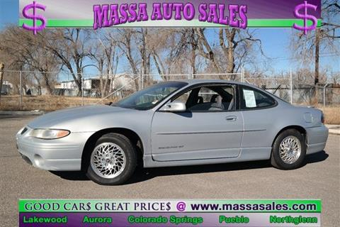 2000 Pontiac Grand Prix for sale in Colorado Springs, CO