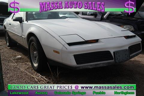 1983 Pontiac Firebird for sale in Colorado Springs, CO
