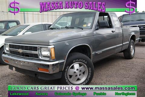 1991 Chevrolet S-10 for sale in Pueblo, CO