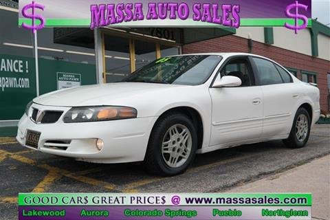 2005 Pontiac Bonneville for sale in Colorado Springs, CO