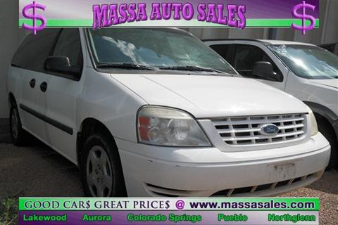 2005 Ford Freestar for sale in Pueblo, CO