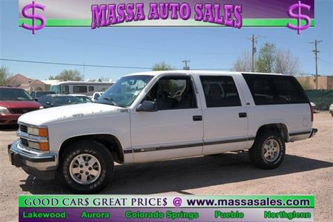 1994 Chevrolet Suburban for sale in Colorado Springs, CO