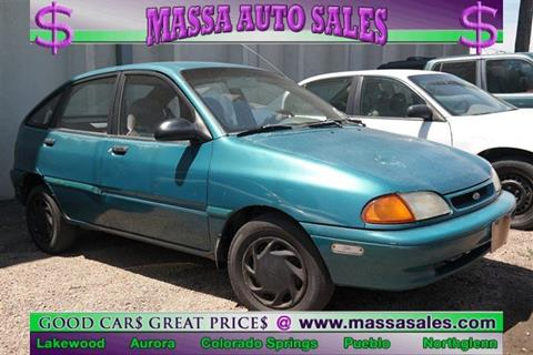 1995 Ford Aspire For Sale In Colorado Springs CO