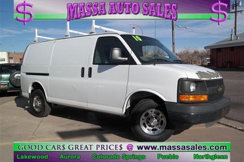 2010 Chevrolet Express Cargo for sale in Pueblo, CO