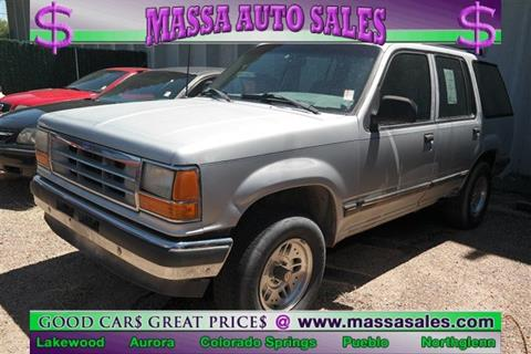 1991 Ford Explorer for sale in Colorado Springs, CO
