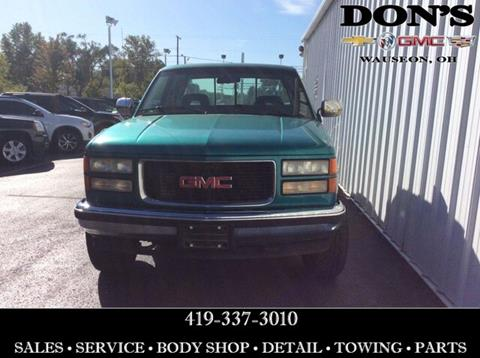 1994 GMC Sierra 1500 for sale in Wauseon, OH