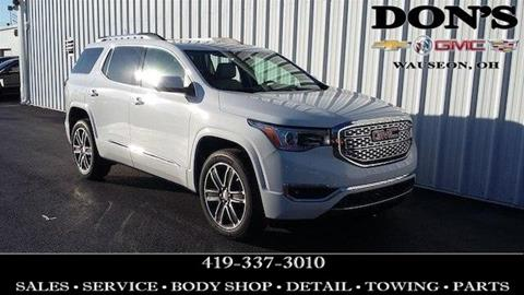 2019 GMC Acadia for sale in Wauseon, OH