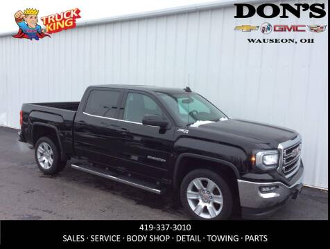 2016 GMC Sierra 1500 for sale at DON'S CHEVY, BUICK-GMC & CADILLAC in Wauseon OH