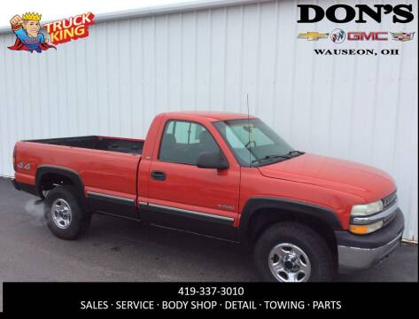 2000 Chevrolet Silverado 1500 for sale at DON'S CHEVY, BUICK-GMC & CADILLAC in Wauseon OH