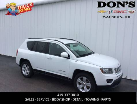 2017 Jeep Compass Latitude for sale at DON'S CHEVY, BUICK-GMC & CADILLAC in Wauseon OH