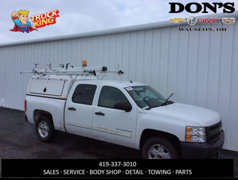 2011 Chevrolet Silverado 1500 Hybrid for sale at DON'S CHEVY, BUICK-GMC & CADILLAC in Wauseon OH