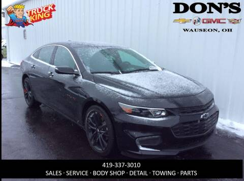2018 Chevrolet Malibu LT for sale at DON'S CHEVY, BUICK-GMC & CADILLAC in Wauseon OH