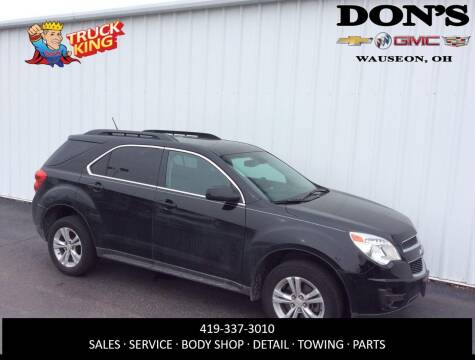 2014 Chevrolet Equinox LT for sale at DON'S CHEVY, BUICK-GMC & CADILLAC in Wauseon OH
