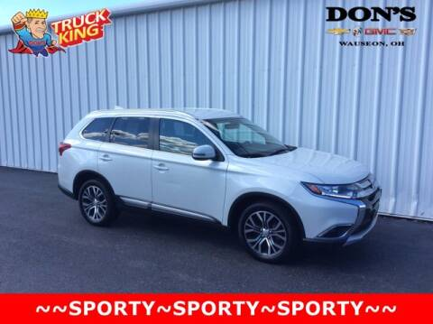 2017 Mitsubishi Outlander for sale at DON'S CHEVY, BUICK-GMC & CADILLAC in Wauseon OH