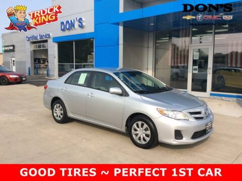2011 Toyota Corolla for sale at DON'S CHEVY, BUICK-GMC & CADILLAC in Wauseon OH