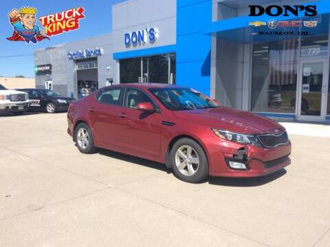2015 Kia Optima for sale at DON'S CHEVY, BUICK-GMC & CADILLAC in Wauseon OH