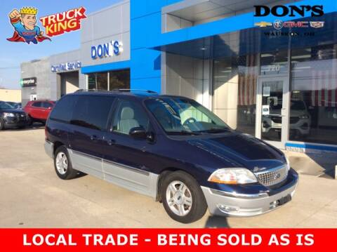 2001 Ford Windstar for sale at DON'S CHEVY, BUICK-GMC & CADILLAC in Wauseon OH