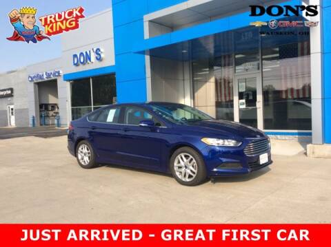 2014 Ford Fusion for sale at DON'S CHEVY, BUICK-GMC & CADILLAC in Wauseon OH