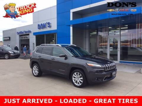 2015 Jeep Cherokee for sale at DON'S CHEVY, BUICK-GMC & CADILLAC in Wauseon OH