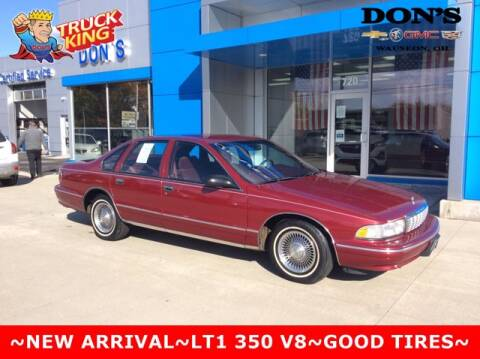 1996 Chevrolet Caprice for sale at DON'S CHEVY, BUICK-GMC & CADILLAC in Wauseon OH