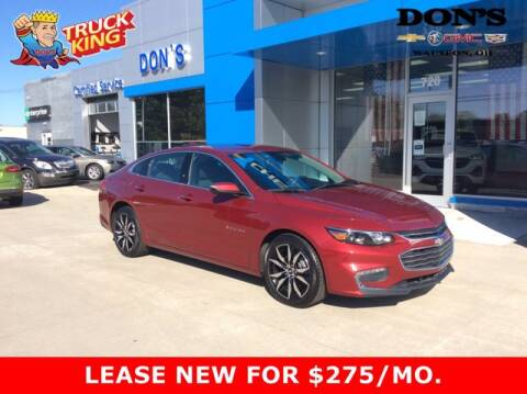 2018 Chevrolet Malibu for sale at DON'S CHEVY, BUICK-GMC & CADILLAC in Wauseon OH